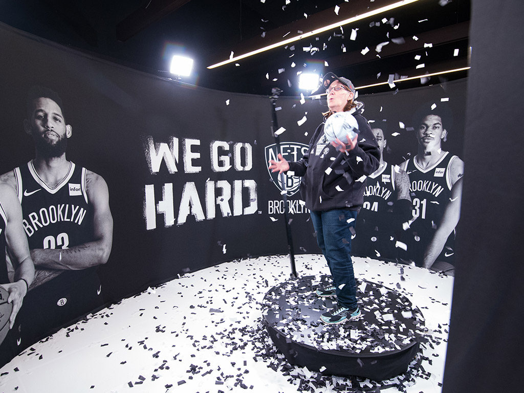 OrcaVue 360 Video Booth BrooklynNets2